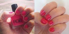 Testing non-toxic nail polish brands on Ecocult blog.