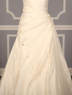 Justina Bridal Suzanne Discount Designer Wedding Dress