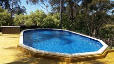 Decked Pools - Affordable Pools - Australian above ground pools for sale