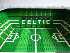 Esto es lo que hace un aficionado del Celtic con unas cuantas piezas de Lego