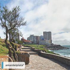 #PlayaChica New York Skyline, Beautiful, Bella, Postcards, Travel, World, Buenos Aires, Argentina, Mar Del Plata