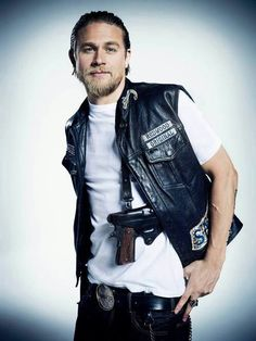 Charlie Hunnam , main star in Sons Of Anarchy