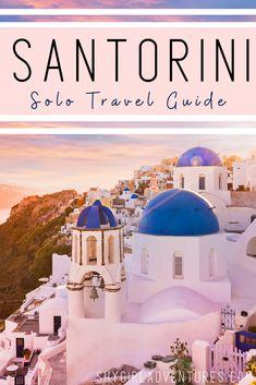 #santorini #greekislands #islandhopping #solotravel