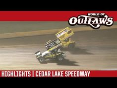 World of Outlaws Craftsman Sprint Cars Cedar Lake Speedway July 2016 Real Racing, Dirt Track Racing, New Richmond, Cedar Lake, Cars Series, July 9th, Sprint Cars, Craftsman, Highlights