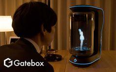 Gatebox es el nuevo asistente virtual holográfico, al estilo Star Wars - http://staff5.com/gatebox-nuevo-asistente-virtual-holografico-al-estilo-star-wars/