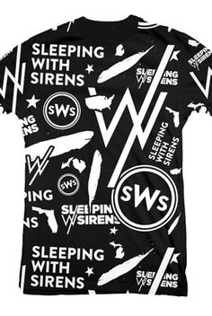 All Over T-Shirts from Sleeping With Sirens