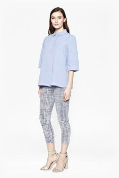 Capri Cotton Boxy Shirt