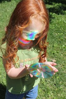 What makes a rainbow? (You do need sunshine for these experiments!)