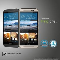 Live in style with the HTC One M9 available in grey or silver at CertifiedTechDirect today. Hurry, limited stocks available! #androidphone #android #htc #htcmania #htcone #teamandroid #instamood #tweegram #picoftheday #igers #instadaily #summer #instagramhub #iphoneonly #follow #igdaily #bestoftheday #happy #iloveshopping #onlineshopping #online #ebayseller #ebaystore #ebaysale