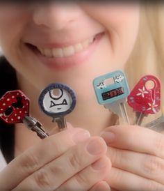 Dany Martinez dá dicas e como você pode estilizar as suas chaves, deixando elas mais coloridas e divertidas