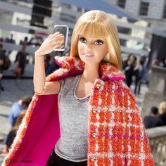 barbie style on instagram | Barbie Takes A Selfie