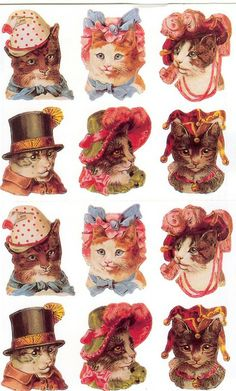 inspiration for my kitty tattoos
