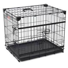 Archie & Oscar™ Archie Slide Aside Pet Crate & Reviews | Wayfair Lucky Dog Kennel, Pet Barrier, Pet Corner, Dog Pen, Sliding Door Systems, Pet Dogs, Pets, Pet Gate, Front Door Design