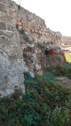 Ruins in Chania Crete.