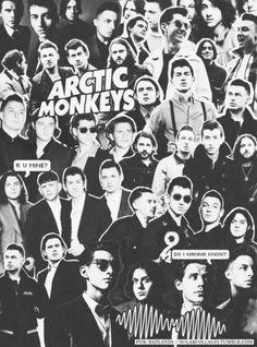 Resultado de imagem para arctic monkeys collage