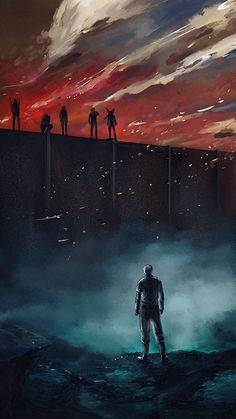 Reiner facing his past Armin, Mikasa, Levi X Eren, Attack On Titan Season, Attack On Titan Anime, Animes Wallpapers, Cute Wallpapers, Fullmetal Alchemist, Tokyo Ghoul