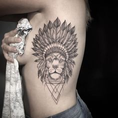 Cool Indian Lion Tattoo - Best Lion Tattoos For Men: Cool Lion Tattoo Designs and Ideas For Guys Aa Tattoos, Trendy Tattoos, Future Tattoos, Body Art Tattoos, Sleeve Tattoos, Tattoos For Guys, Tatoos, Lion Tattoo Design, Tribal Tattoo Designs
