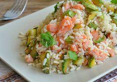 Riz au saumon et courgettes Weight Watchers, recette d'un plat froid et léger à base de riz, facile et simple à réaliser chez vous.