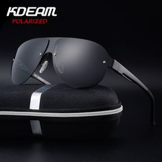 f3cda431aac KDEAM Exercise Sunglasses Men Polarized UV Protection Sun Glasses fashion  High Quality Brand Designer Cool Driving Eyewear Pilot-in Sunglasses from  Men s ...