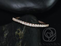 14kt Matching Band to Giselle Diamonds Halfway Eternity Band (Other Metals and Stone Options Available)
