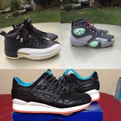 Whats Up IG @301kickz  @301kickz For Sale For Sale Size 11 2003 playoff 12s $100 shipped (needs sole reglue) Size 12.5 Galaxy flight 1s $100 shipped  Size 11 Asics Gel Lyte III Miami Vice$80 shipped  All include shipping and fees! Payment via Paypal Only!  Looking For Serious Buyers!! Text 301-789-7152@301kickzText 301-789-7152 by postandsell #SoleInsider