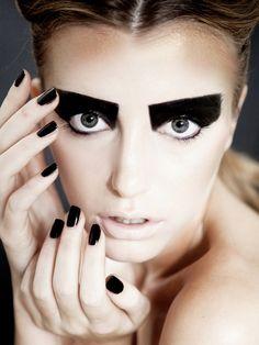 black makeup art