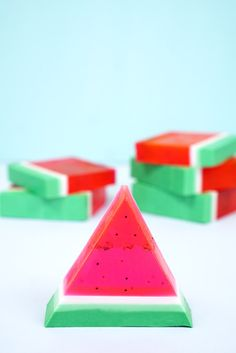 15-Minute DIY Watermelon Soap