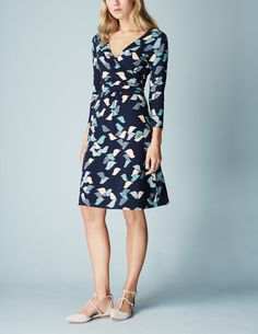 Elena Fixed Wrap Dress WH886 Smart Day at Boden