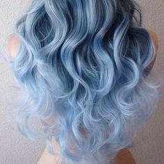 Tendenza colore capelli 2016 Denim hair