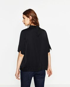 Image 3 of HIGH NECK TOP from Zara