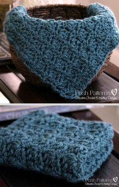 free crochet baby blanket pattern from Posh Designs