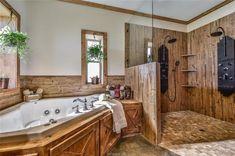 37 Amazing Rustic Barn Bathroom Decor Id. Barn Bathroom, Rustic Bathrooms, Bathroom Ideas, Bathroom Goals, Metal Building Homes, Building A House, Morton Building, Metal Homes, Building Ideas