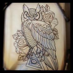 This kinda looks like my foot tattoo.