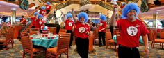 Green Eggs and Ham Breakfast with the Cat in the Hat and Friends   Carnival Cruise Lines