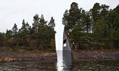 Jonas Dahlberg model for Norway memorial site
