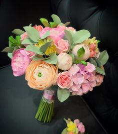 Букет невесты из полимерной глины. Букет невесты, свадебные цветы, цветы из полимерной глины, wedding flowers, Bridal bouquet, wedding bouquet, deco clay, polimer clay, clay flowers, www.buketeria.ru