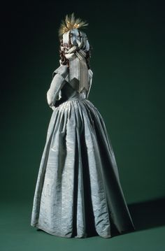 Woman's Dress (Greatcoat), circa 1786. | LACMA Collections