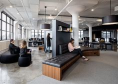"A+I uses ""yin-yang"" palette for Squarespace headquarters in New York"
