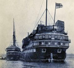 HMS Defiance (1861) – the last wooden line-of-battle ship launched for the Royal…