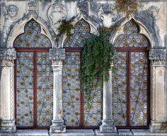 window, Trogir, Croatia