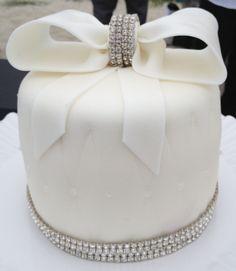 - Bling Wedding Cake