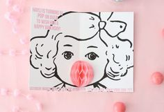 Your Party Needs These Invites: Bubblegum Popup Cards