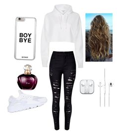 """School day "" by ximenaordonez9 on Polyvore featuring River Island and NIKE"