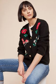 Shop the Embroidered Retro Cardigan and more Anthropologie at Anthropologie today. Read customer reviews, discover product details and more.
