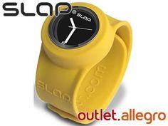 ZEGAREK silikonowy żółty SLAP WATCH -38%