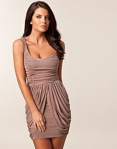 one shoulder dress by te amo. LOVE.
