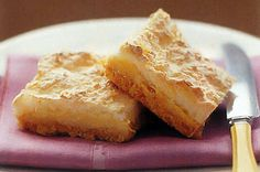 Perfect for an after-dinner dessert or afternoon tea, this lemon meringue slice tastes as good as it looks.