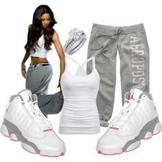 These Retro Air Jordan Shoes (Jordan Air Penny,Jordan Air Yeezy,Jordan Dunk Shoes)are perfect for girls and boys.Especially who love and wear sneakers at once. Cute Swag Outfits, Dope Outfits, Winter Outfits, Casual Outfits, Fashion Outfits, Womens Fashion, Fashion Trends, Outfits With Jordans, Edgy Teen Fashion