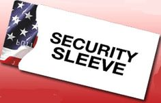 Security Sleeves |  1140+ As Seen on TV Items: http://TVStuffReviews.com/security-sleeves