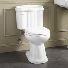 Madden Two-Piece Round Siphonic Toilet